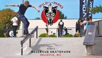 VOLCOM WILD IN THE PARKS -- Stop 3 - Bellevue Skatepark - Bellevue, WA