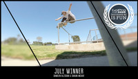 GOPRO #SKATEBOARDINGISFUN -- July Winner
