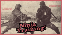 NINJA TRAINING! -- David Reyes & Nyjah Huston
