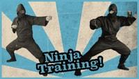 NINJA TRAINING! -- Sewa Kroetkov & Micky Papa