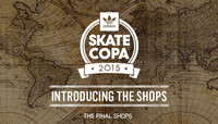 ADIDAS SKATE COPA 2015 -- Global Finals - Introducing The Shops