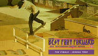 ZUMIEZ BEST FOOT FORWARD -- The Finals - Joshua Tree