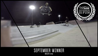 GOPRO #SKATEBOARDINGISFUN -- September Winner