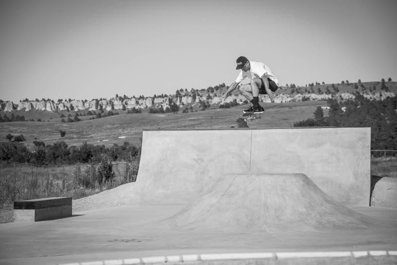 IN PHOTOS -- Skateboarding In Pine Ridge