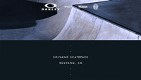 ON LOCATION -- Solvang Skatepark - Solvang, CA
