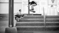 CHRIS JOSLIN HAS 360 FLIPS ON LOCK