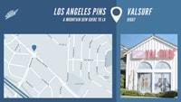 LOS ANGELES PINS -- Val Surf