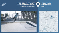 LOS ANGELES PINS -- Garvanza