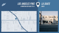 LOS ANGELES PINS -- L.A. Skate