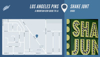 LOS ANGELES PINS -- Shake Junt