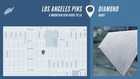 LOS ANGELES PINS -- Diamond
