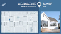 LOS ANGELES PINS -- Babylon
