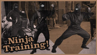 NINJA TRAINING! -- with Trent McClung, Dane Burman & Paul Hart
