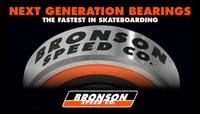BRONSON SPEED CO. -- The Fastest Bearings In Skateboarding