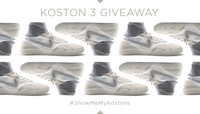 KOSTON 3 GIVEAWAY -- #ShowMeMyKostons