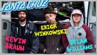 SANTA CRUZ -- Welcome To The Team Kevin, Dylan and Erick!
