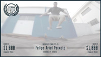 GOPRO #SKATEBOARDINGISFUN 2016 -- March Winner