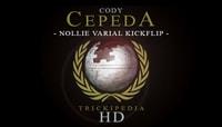 TRICKIPEDIA -- Nollie Varial Kickflip