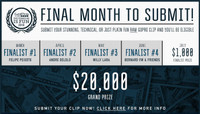 FINAL MONTH TO SUBMIT! -- GOPRO #SKATEBOARDINGISFUN 2016