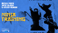 NINJA TRAINING -- with Jack Olson, Micky Papa, and Kevin Romar