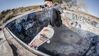 DALTON DERN ON THE SKATEBOARD MAG -- CURE: Adelanto