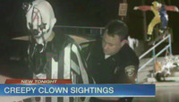 CREEPY CLOWN SPOTTED -- IN DTLA