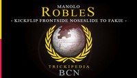 TRICKIPEDIA - BCN -- Kickflip Frontside Noseslide To Fakie