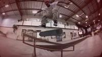 TIAGO LEMOS IS CONSISTENT -- Frontside Halfcab Flip Boardslide
