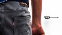 LEVI'S SKATEBOARDING COLLECTION -- Available In The Canteen