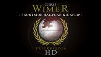 TRICKIPEDIA -- Frontside Half-Cab Kickflip