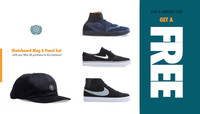 FREE Skateboard Mag 5 Panel Hat -- with any Nike SB purchase