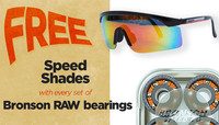 FREE BRONSON SPEED SHADES -- With Every RAW Shieldless Canteen Purchase