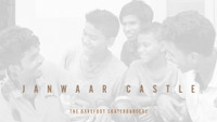 THE BAREFOOT SKATEBOARDERS -- Janwaar Castle Fundraiser