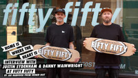 HOME IS WHERE THE HEART IS -- REAL's Interview With Fifty Fifty Skateshop