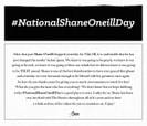 #NATIONALSHANEONEILLDAY