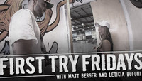 FIRST TRY FRIDAYS -- with Leticia Bufoni