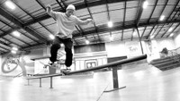 HE COULD GO ALL THE WAY -- Carlos Ribeiro's Nollie 180 Backside Nosegrind