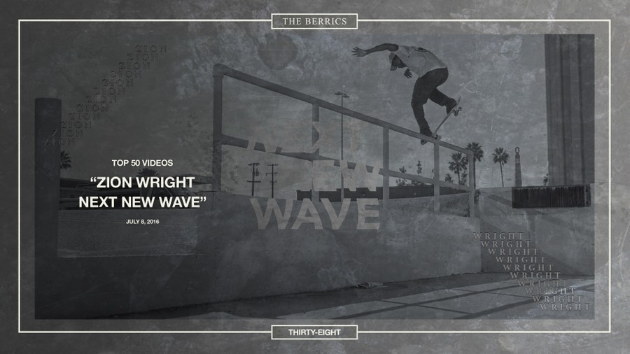 38: ZION WRIGHT'S NEXT NEW WAVE -- Top 50 Countdown
