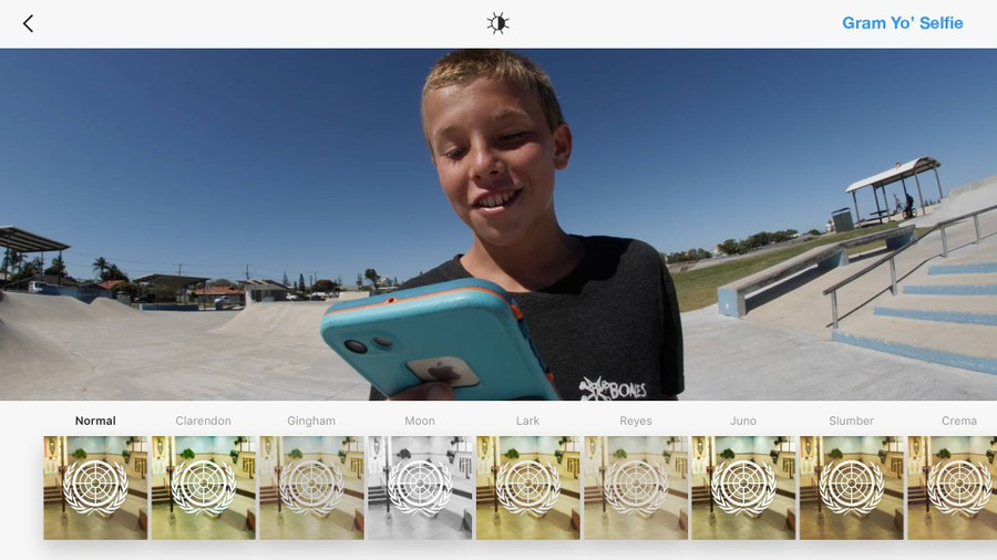 GRAM YO SELFIE -- Keegan Palmer at Tugun Skatepark