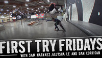 INTERNATIONAL WOMEN'S DAY: FIRST TRY FRIDAYS WITH ALLYSHA LE, SAM NARVAEZ & DAN CORRIGAN