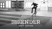 WEEKENDER -- Matt Berger - 2017