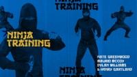 NINJA TRAINING: Nate Greenwood, Maurio McCoy, Dylan Williams, and Henry Gartland