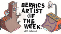BERRICS ARTIST OF THE WEEK: JEFF KUBASAK