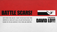 TOMORROW: DAVID LOY'S BATTLE SCARS