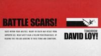 TOMORROW: DAVID LOY'S BATTLE SCARS
