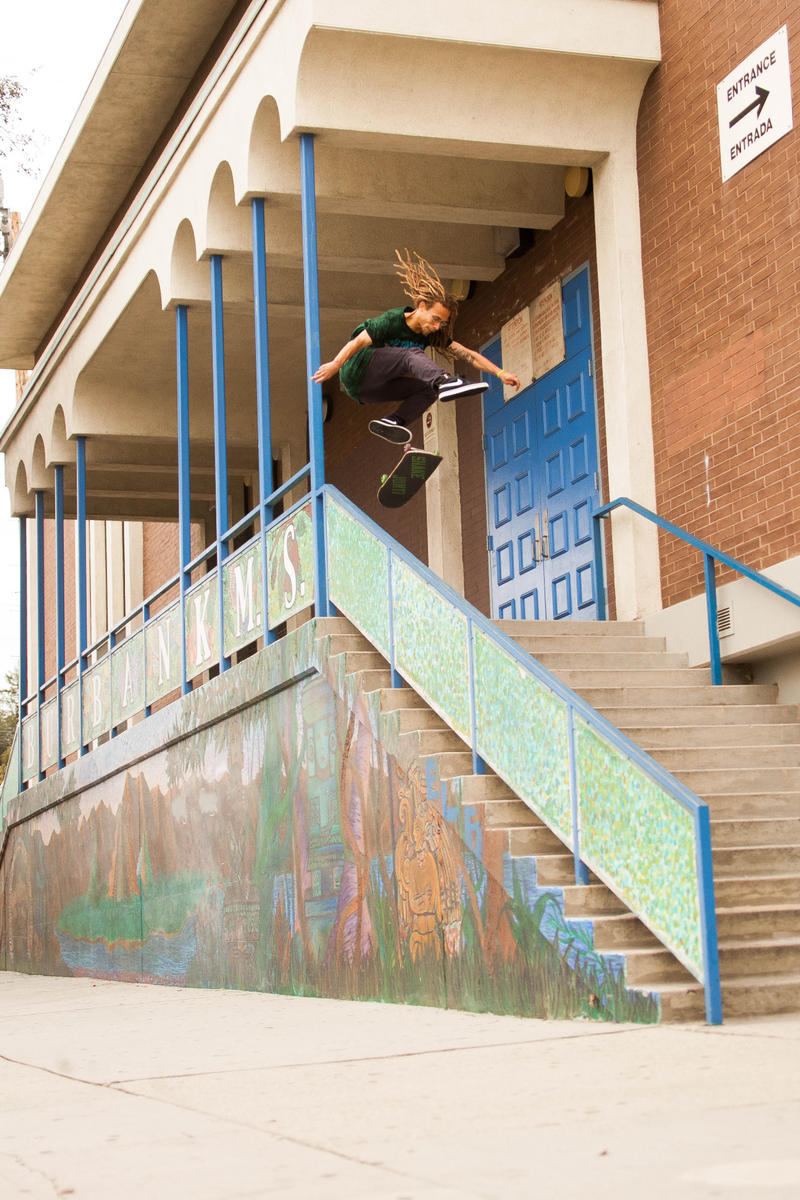 YOONIVISION: NEEN WILLIAMS'S BURBANK MS HEELFLIP