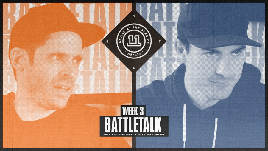 BATTLETALK WITH CHRIS ROBERTS AND MIKE MO CAPALDI: WEEK 3