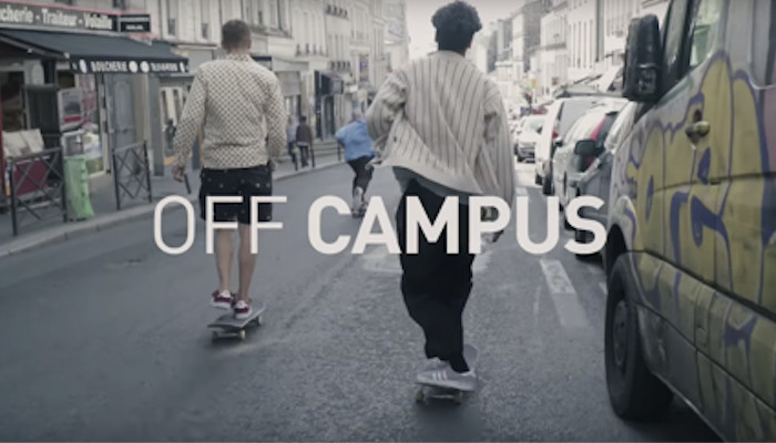 9f35b87408e3a9 ADIDAS TEAM SKATES PARIS IN RAW  OFF CAMPUS  VIDEO