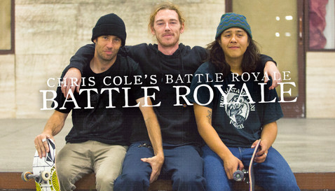 CHRIS COLE'S BATTLE ROYALE: WITH JAKE HAYES, FRANKY VILLANI, AND DANE BURMAN