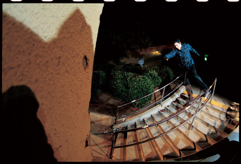 Heath Kirchart, Lipslide, Oceanside, California 2000